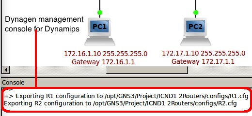 How to use the GNS3 WorkBench Exercises   RedNectar's Blog