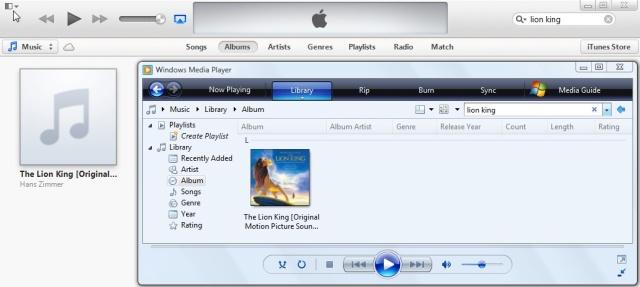 WMP vs iTunes