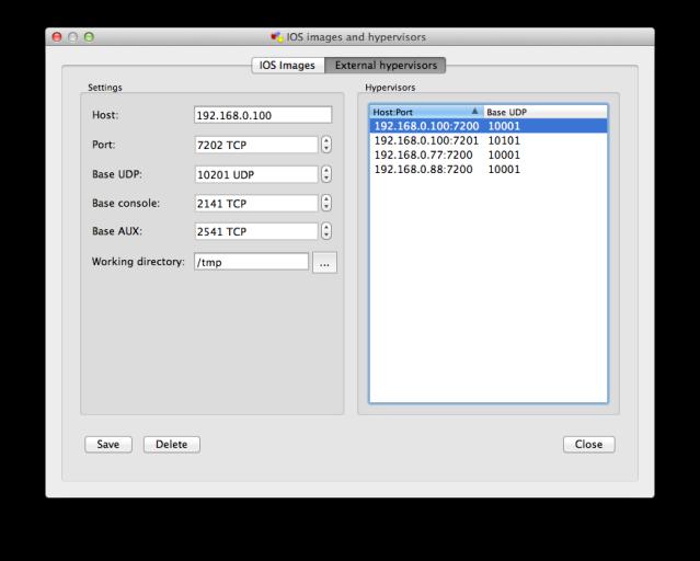 IOS Images and hypervisors - External Hypervisors
