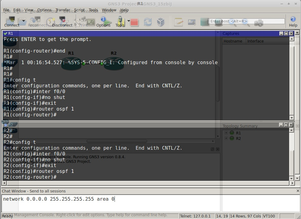 A Comparison of GNS3 Terminal Applications | RedNectar's Blog