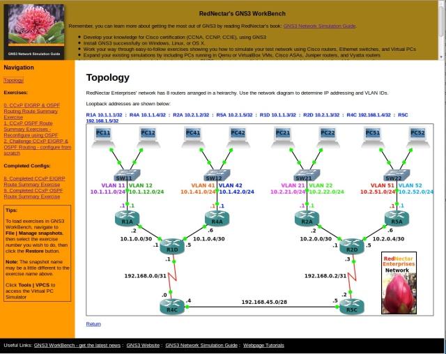 GNS3Wb Help Screen1