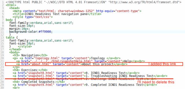 editing navigation.html