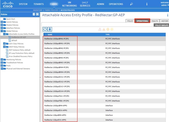 Cisco ACI Tutorial 4 – The Access Policy Chain – a new
